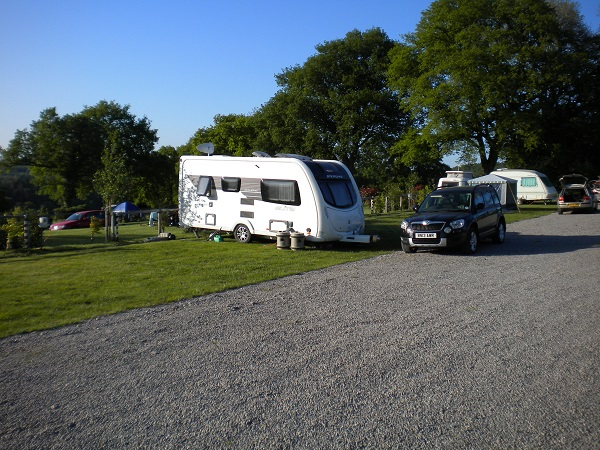 Deanwood Caravan site Forest of Dean