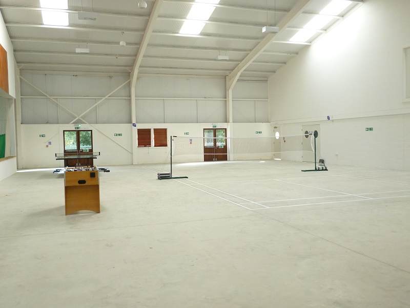 Deanwood Barn Sports Hall Yorkley Lydney Forest of Dean